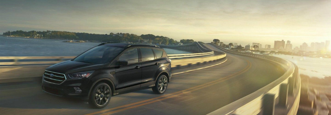 2018 Ford Escape driving on a highway