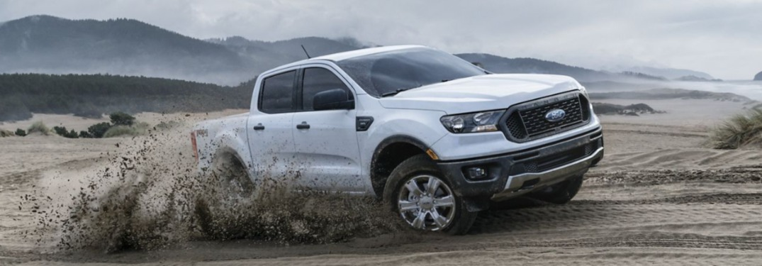 2019 Ford Ranger driving off-road