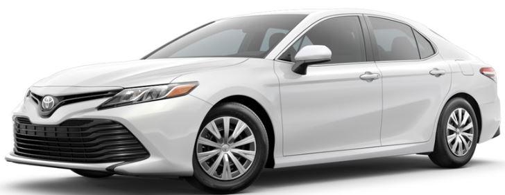 2018 Toyota Camry Super White
