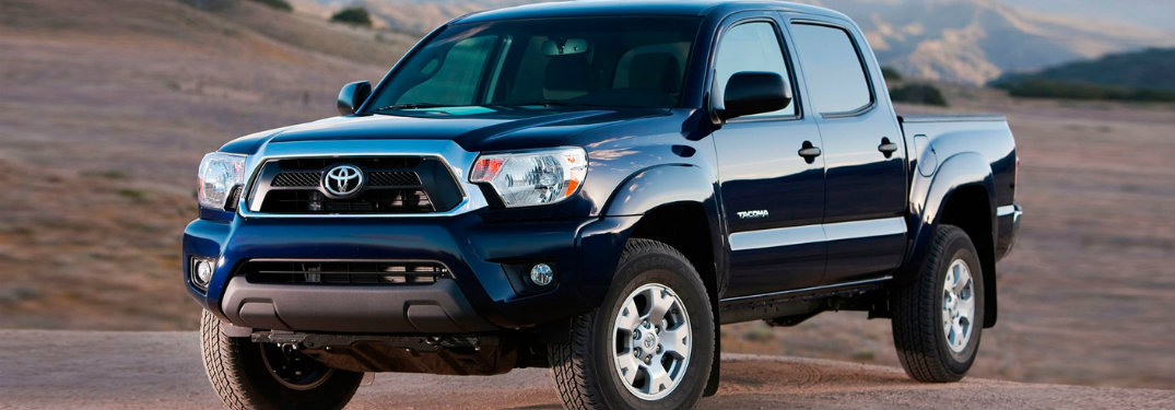 2013 Toyota Tacoma exterior front
