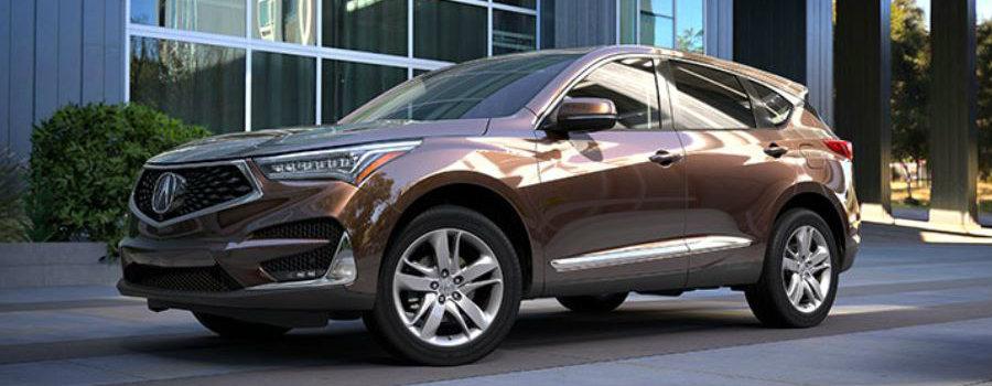 2019 Acura RDX in Canyon Bronze Metallic