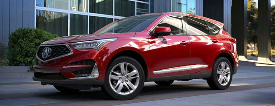 2019 Acura RDX in Performance Red Pearl