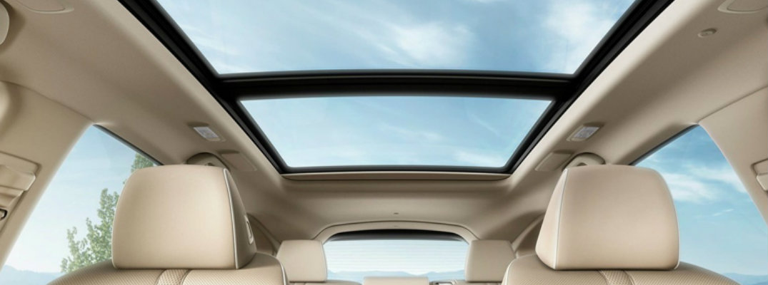 Sunroof in the 2019 Acura RDX