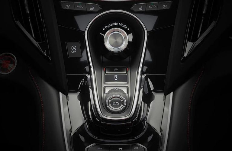 Closeup view of the Integrated Dynamics System inside the 2020 Acura RDX
