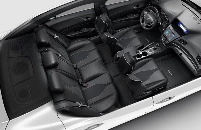 2020 Acura ILX Ebony Interior Color Option