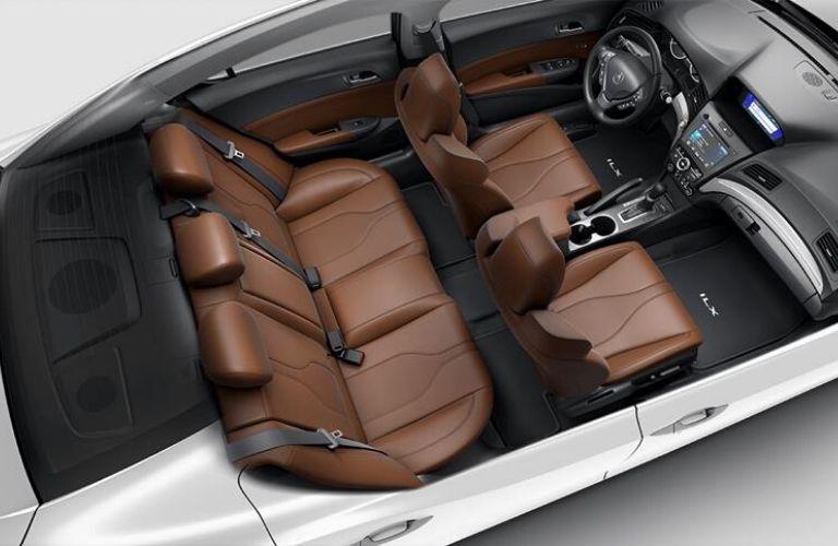 2020 Acura ILX Espresso Interior Color Option