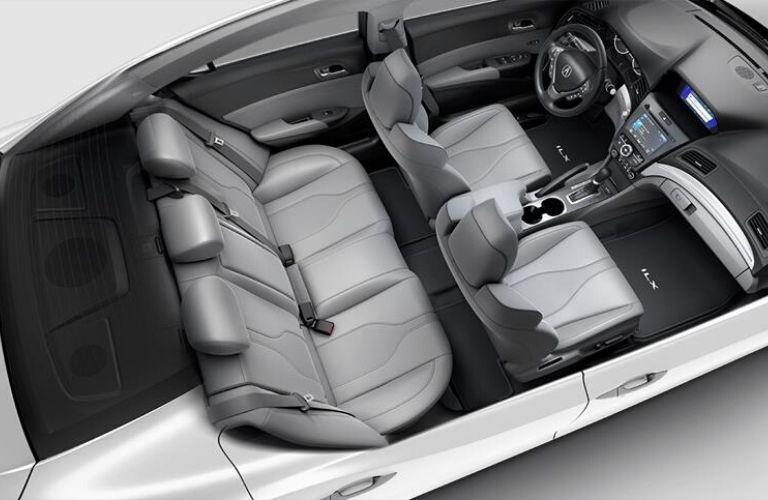 2020 Acura ILX Graystone Interior Color Option