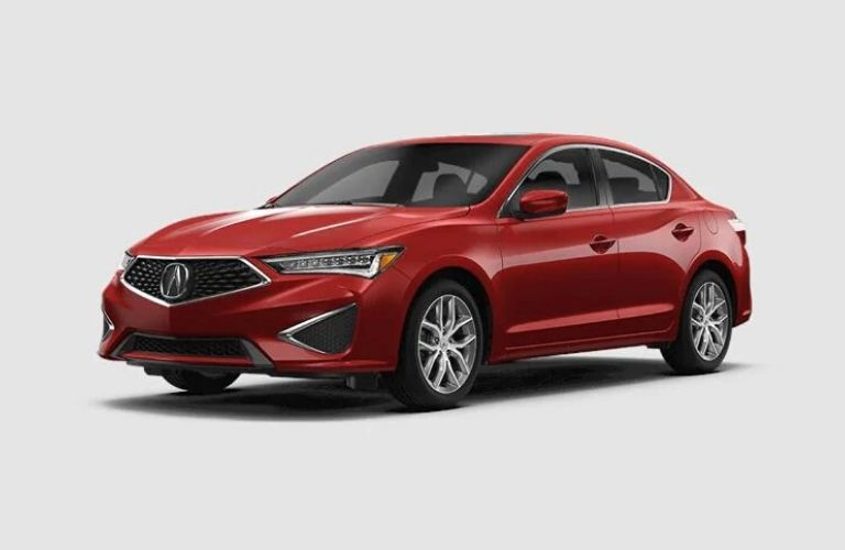 2020 Acura ILX Performance Red Pearl Exterior Color Option