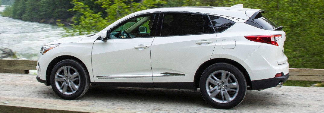 What driving assistance features does the 2020 Acura RDX offer?