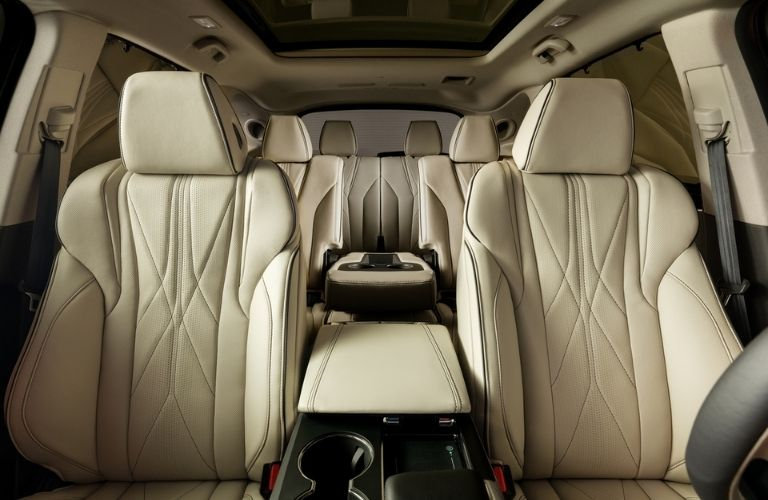 Front to Rear View of Acura MDX Prototype Interior