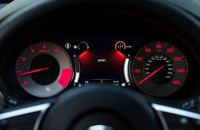 2021 Acura TLX Multi-Information Display with Sport Mode