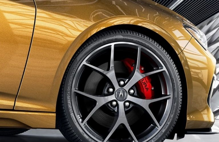 2021 Acura TLX Type S Wheel and Brakes