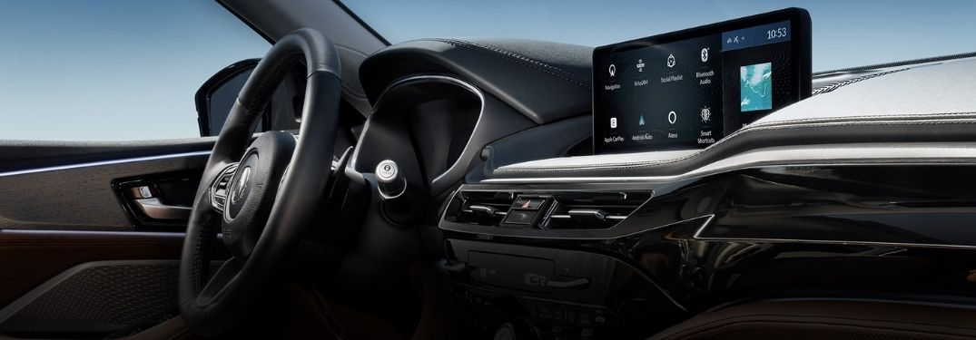 2022 Acura MDX Steering Wheel, Dashboard and Touchscreen Display