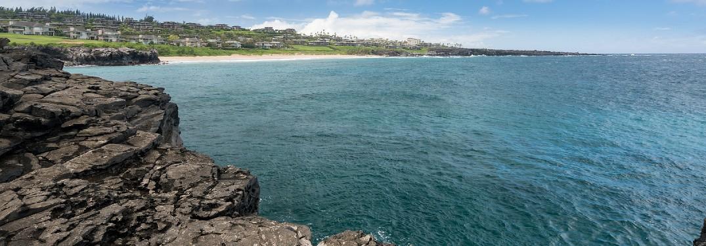 Maui HI and the ocean
