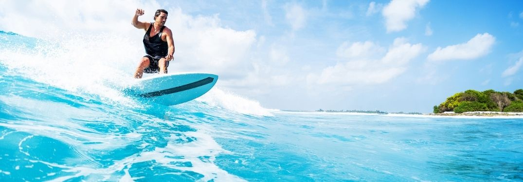 Top Five places to surf in Maui, HI.