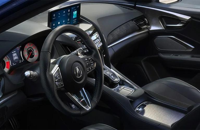 Steering wheel of the 2021 Acura RDX