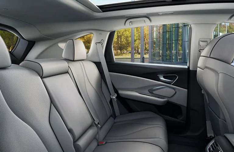 Interior Seating of the 2021 Acura RDX