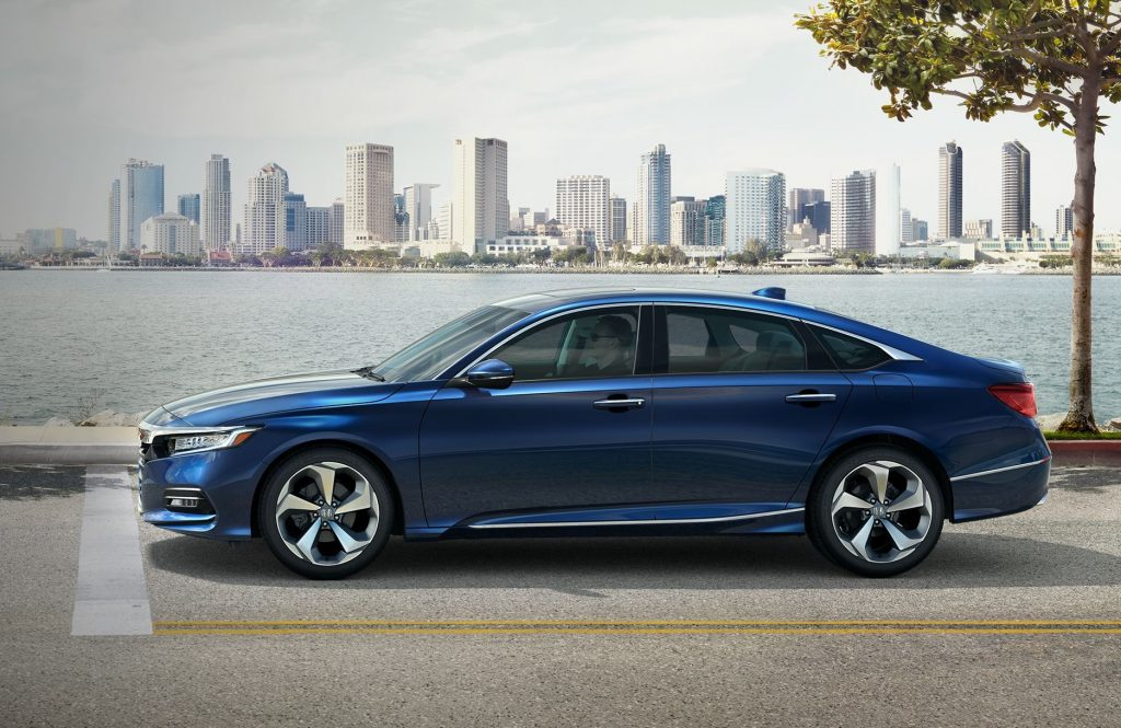 Exterior 2018 Honda Accord Sedan near Iowa City