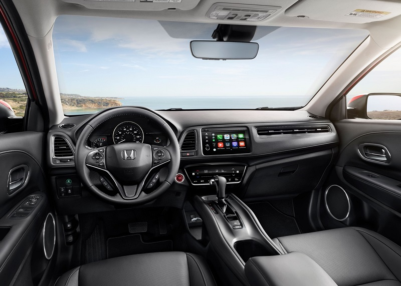 Interior 2019 Honda HR-V in West Burlington