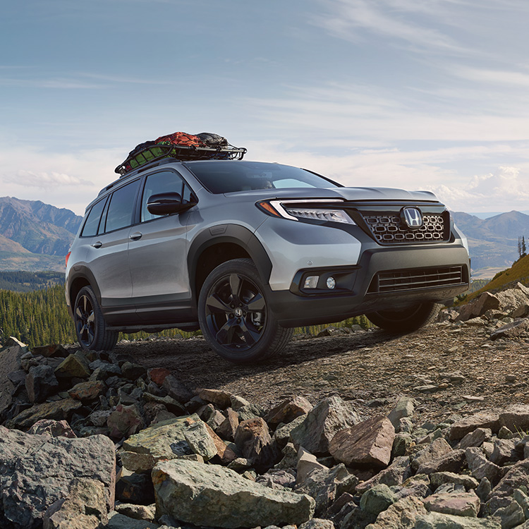 Test Drive the 2019 Honda Passport in Burlington IA