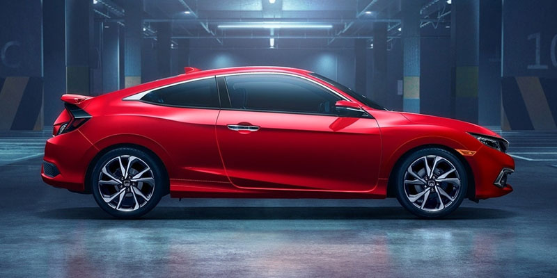The 2020 Honda Civic Coupe offers two engines in Burlington IA
