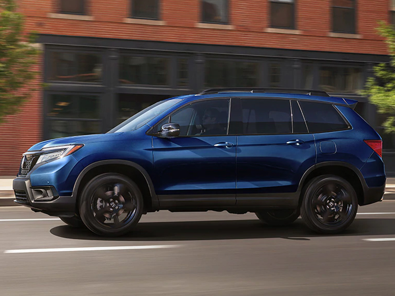 Brad Deery Honda - The 2021 Honda Passport is equipped for off-road adventures near Macomb IL