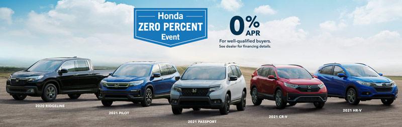 Brad Deery Honda - Honda Zero Percent Event near Quad Cities IA