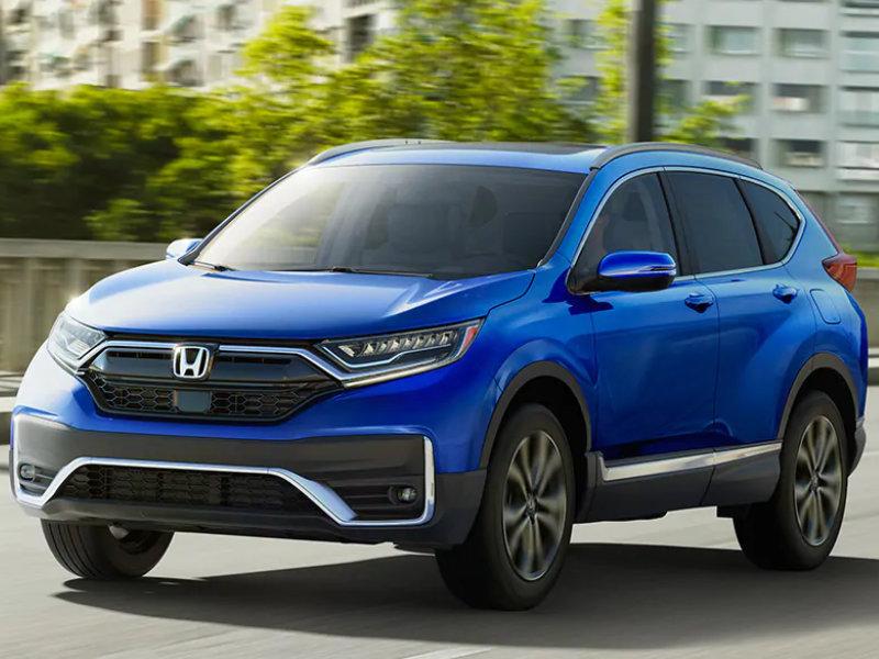 Brad Deery Honda - The 2021 Honda CR-V is highly applauded near Fort Madison IA
