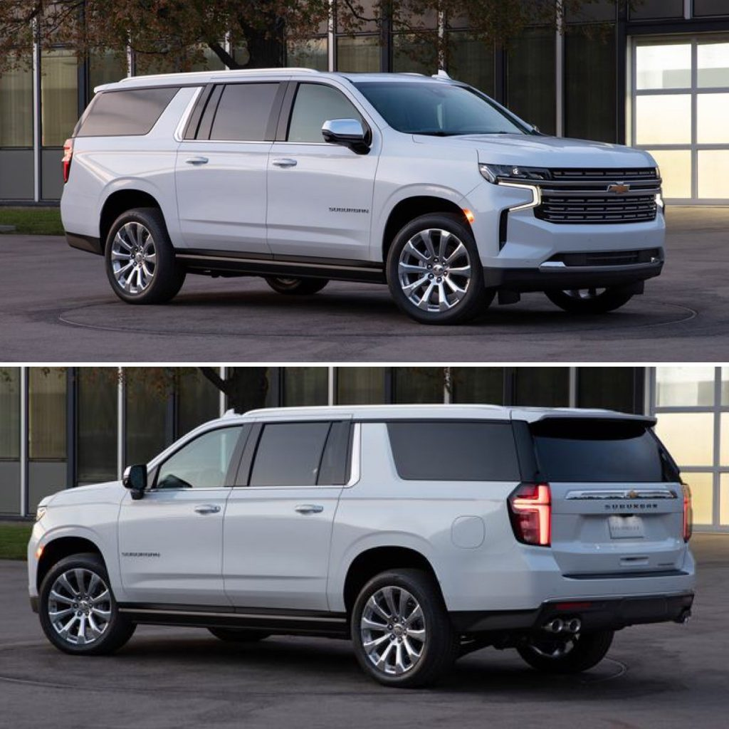 REVEALED: 2021 Tahoe & Suburban