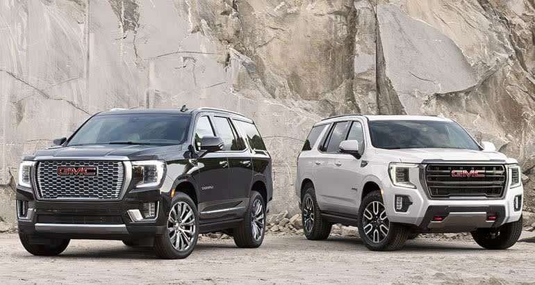 2021 GMC Yukon vs. Yukon XL