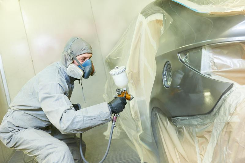 Need A New Paint Job? Here's How the Process Works