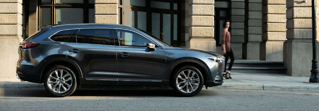 9 Passenger Suv >> 2019 Mazda Cx 9 Passenger And Cargo Space Specs