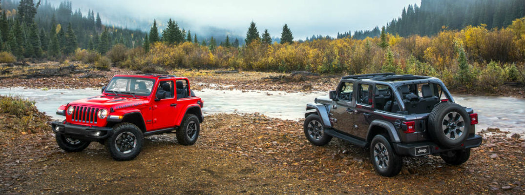 Differences Between The Jeep Wrangler And Wrangler Unlimited