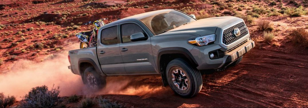 2018 toyota tacoma driving off road