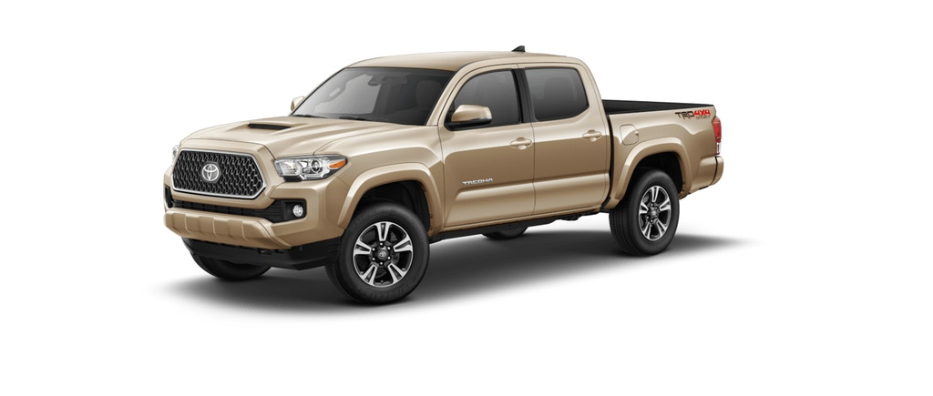 What colors does the new 2019 Toyota Tacoma come in?