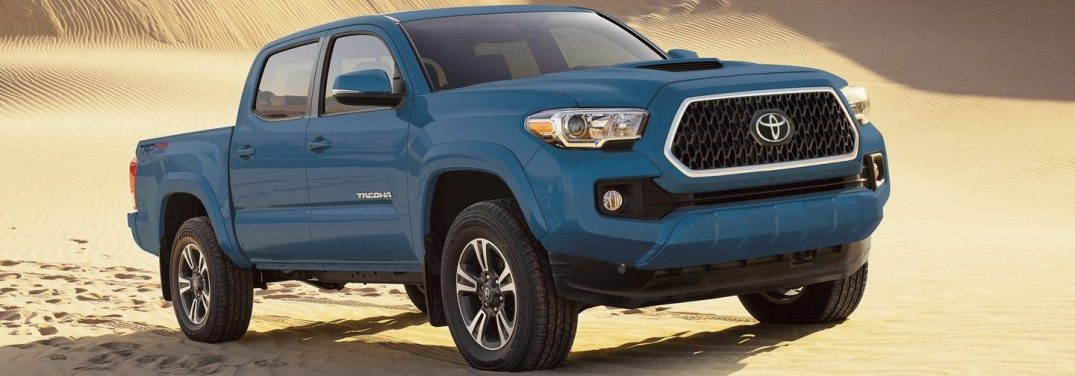 What Colors Does The New 2019 Toyota Tacoma Come In