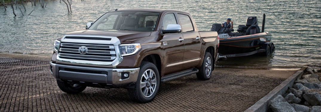 brown-2019-Toyota-Tundra-towling-a-boat-out-of-the-water