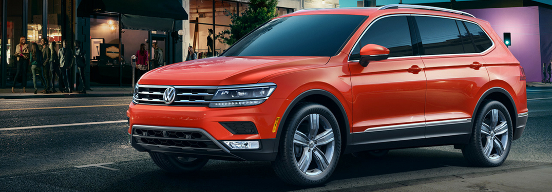 What Are the Trim Levels of the 2018 Volkswagen Tiguan?