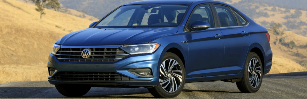 2019 Volkswagen Jetta parked outside