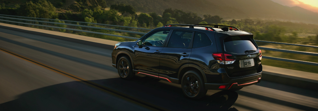 List of 2019 Subaru Forester Accessories