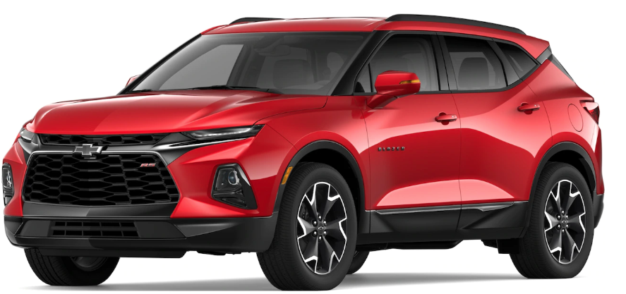 2019 Chevy Blazer Paint Color Options
