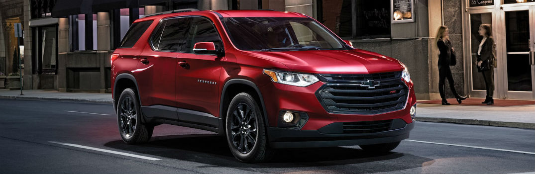 What's inside the 2019 Traverse?
