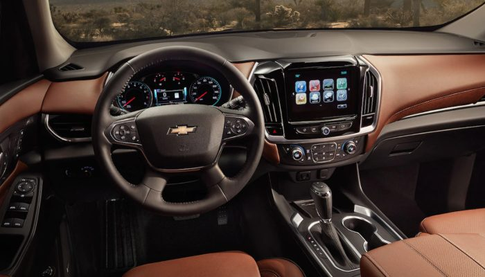 2019 Chevrolet Traverse dashboard