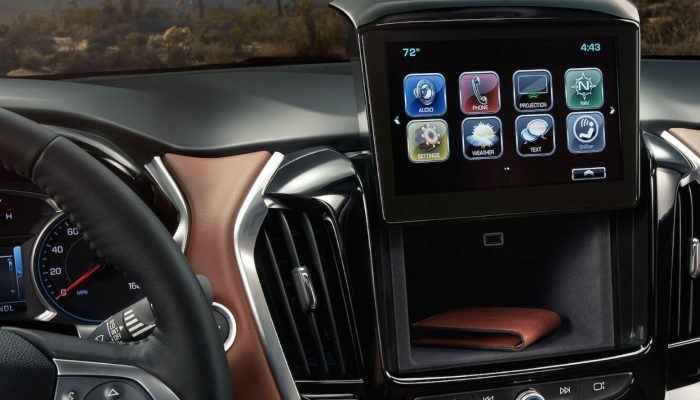 2019 Chevrolet Traverse infotainment system