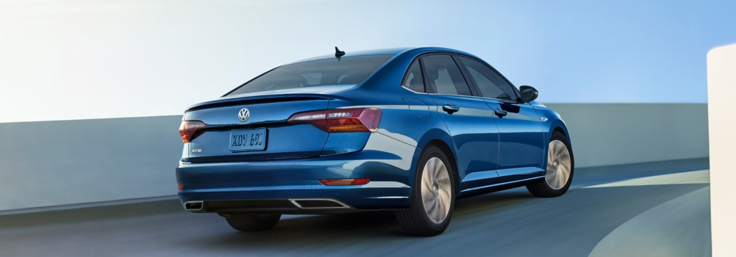 2019 Volkswagen Jetta driving down the highway
