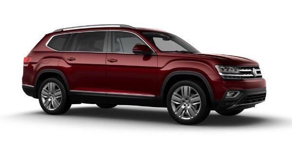 2019 Volkswagen Atlas Fortana Red