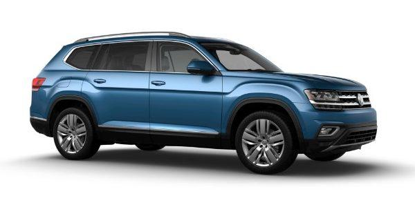 2019 Volkswagen Atlas Pacific Blue Metallic