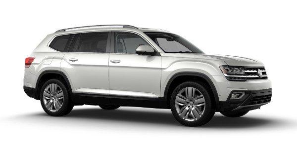 2019 Volkswagen Atlas Pure White