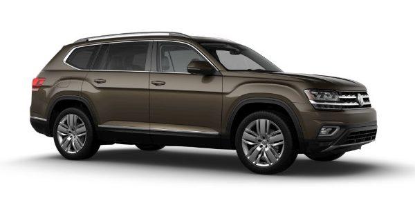 2019 Volkswagen Atlas Terra Brown Metallic