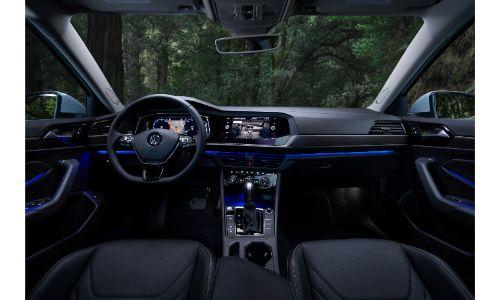 2019 Volkswagen Jetta interior shot full cabin